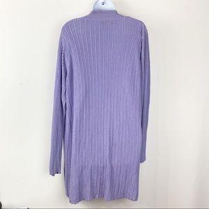 Eileen Fisher Sweaters - Eileen Fisher| open front longline cardigan